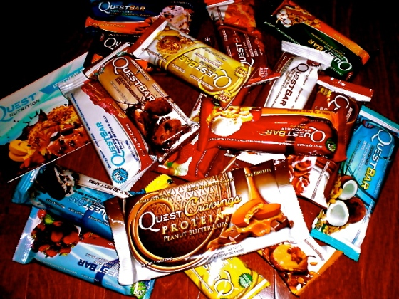 QUEST BARS GALORE!!